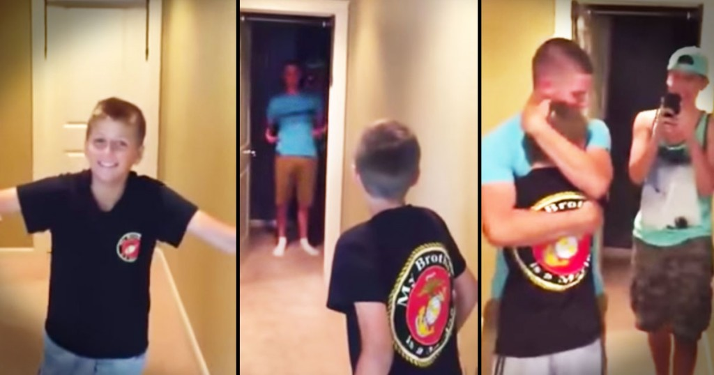 jd-godvine-marine surprises little brother-FB