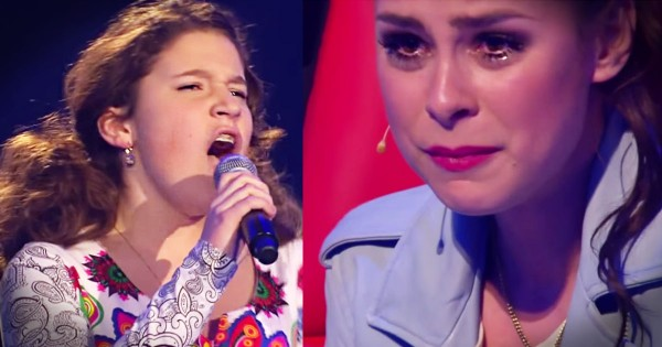 Voice Kids Audition 'Time To Say Goodbye' Brings Judge To Tears