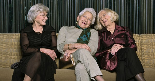 9 Grannies Have Shared Secretly Spread Happiness For Over 30 Years