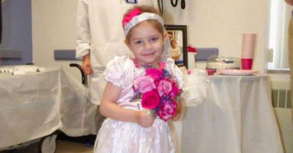 Sick Little Girl's Favorite Nurse Gives Her The Wedding Of Her Dreams