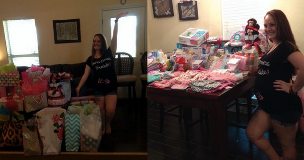 mom's failed baby shower saved