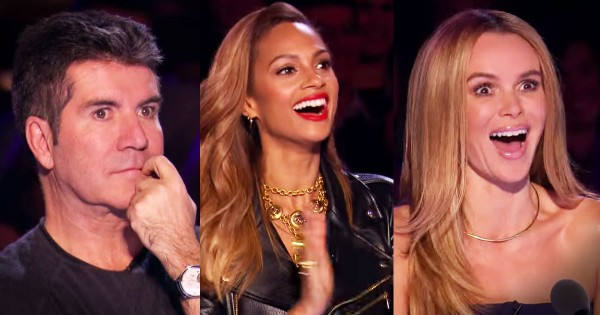 Just Wait 'Til You See Why The Judges Are Making THESE Faces. I've Never Seen Anything Like It!