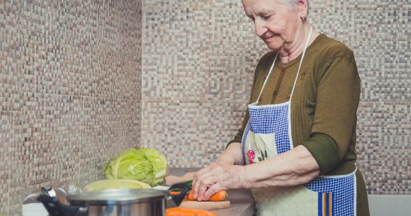 This Grandma Serves Up Some Wisdom With Carrots, Coffee And Eggs In A Pot.