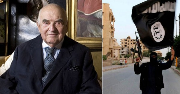 95-Year-Old Saved From Nazis Fights ISIS To Pay It Forward