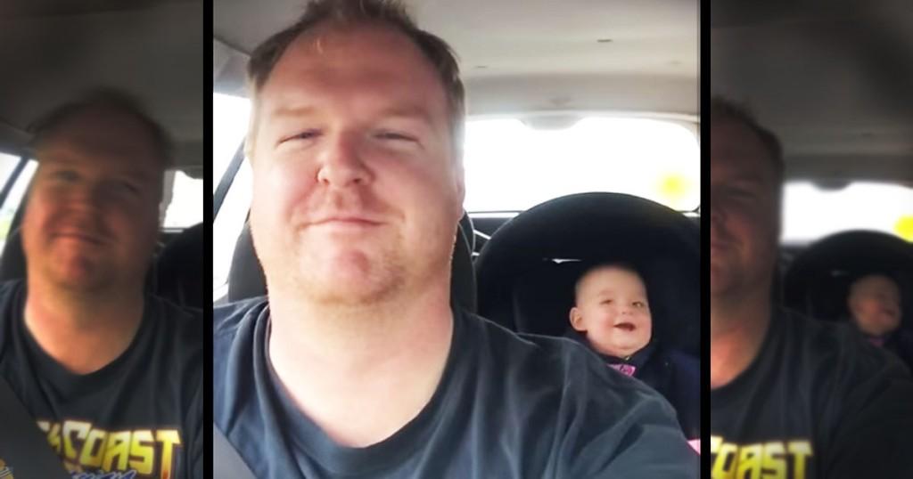 jd-godvine-baby laughs at copy cat dad-FB