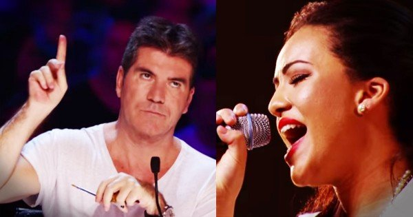 Simon Stops Stephanie McCourt's Audition On The X Factor And Asks Her To Sing Another Song