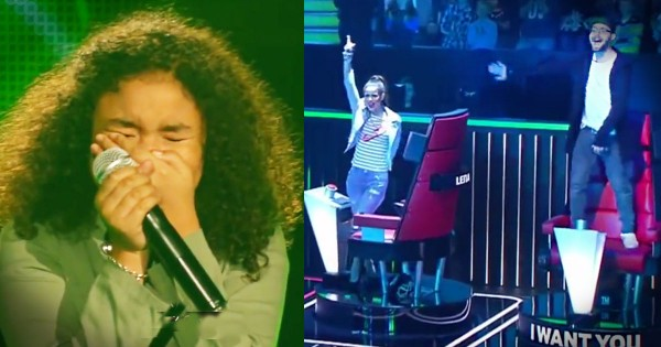 11-Year-Old Stuns Judges On The Voice Germany
