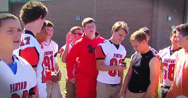 High School Football Team Saves Little Boy From Being Kidnapped