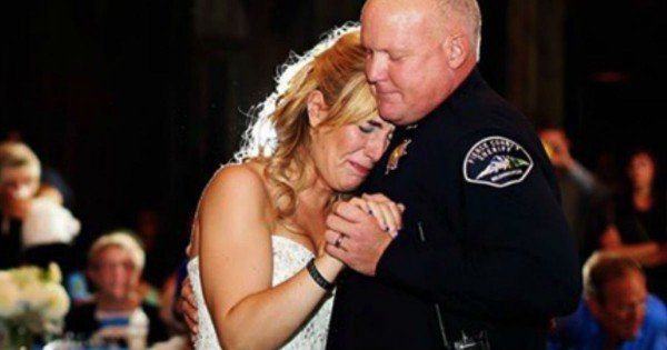 Bride Honors Her Police Officer Dad Who Was Shot And Killed In The Line Of Duty