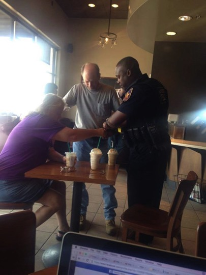 mj-godupdates-couple-prays-for-cop-at-starbucks-1