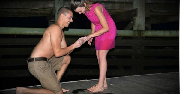 Disaster Struck After He Got Down On One Knee So Strangers Came To His Rescue