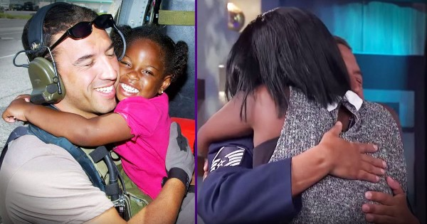 Man Reunited with Girl He Rescued During Hurricane Katrina When She Was 3 Years Old