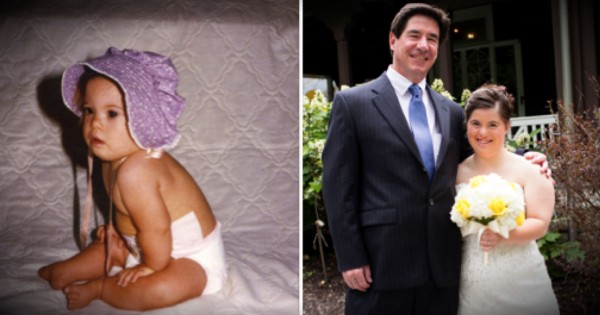Dad's Touching Letter To His Daughter With Down Syndrome On Her Wedding Day