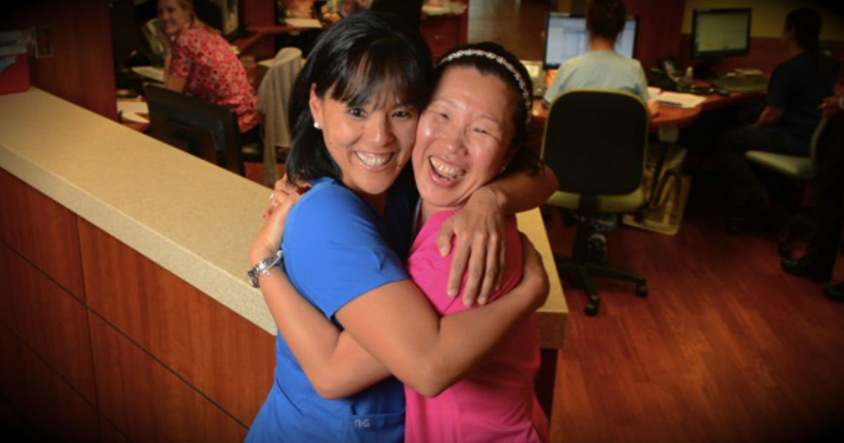 orphaned korean sisters reunited