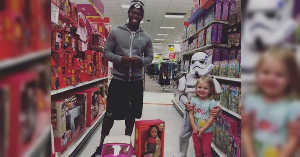 Teen's Random Act Of Kindness At Target For A Toddler's Birthday