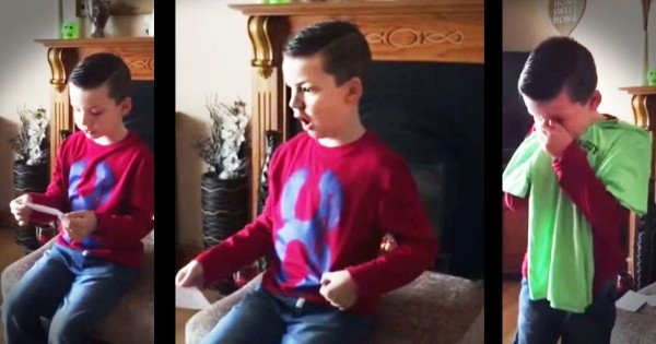 Little Boy Finds Out He Is Going To Be A Big Brother And Cries Happy Tears