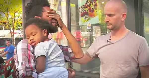 Homeless Single Father Receives Life-Changing Surprise