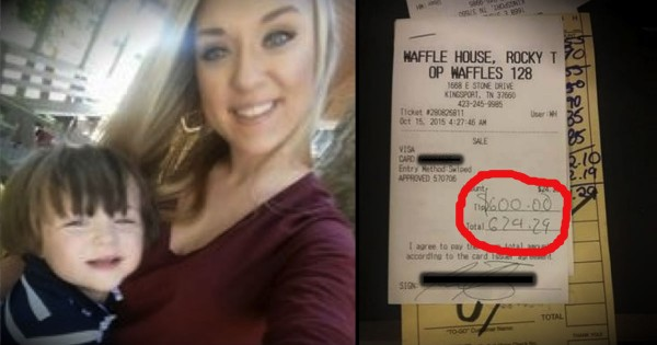 This Waffle House Waitress Was Completely Broke. Until 2 Angels Showed Up!
