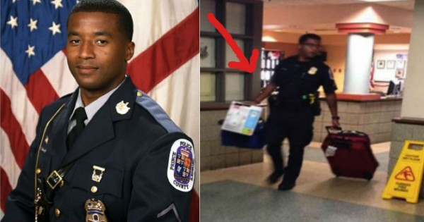 This Officer's Act Of Kindness For A Homeless Abuse Victim Had Me Cheering!