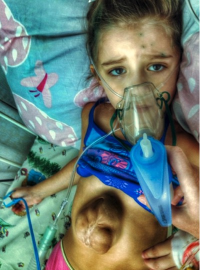 Girl Born With Heart On The Outside Says Jesus Made Her