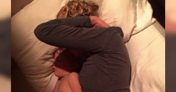 Husband's Viral Post On A Photo Of His Napping Wife