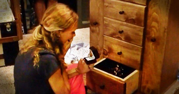 Boyfriend's Surprise Proposal with Handmade Jewelry Chest