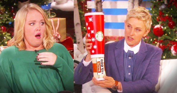 Struggling Family Gets Christmas Surprise From Ellen