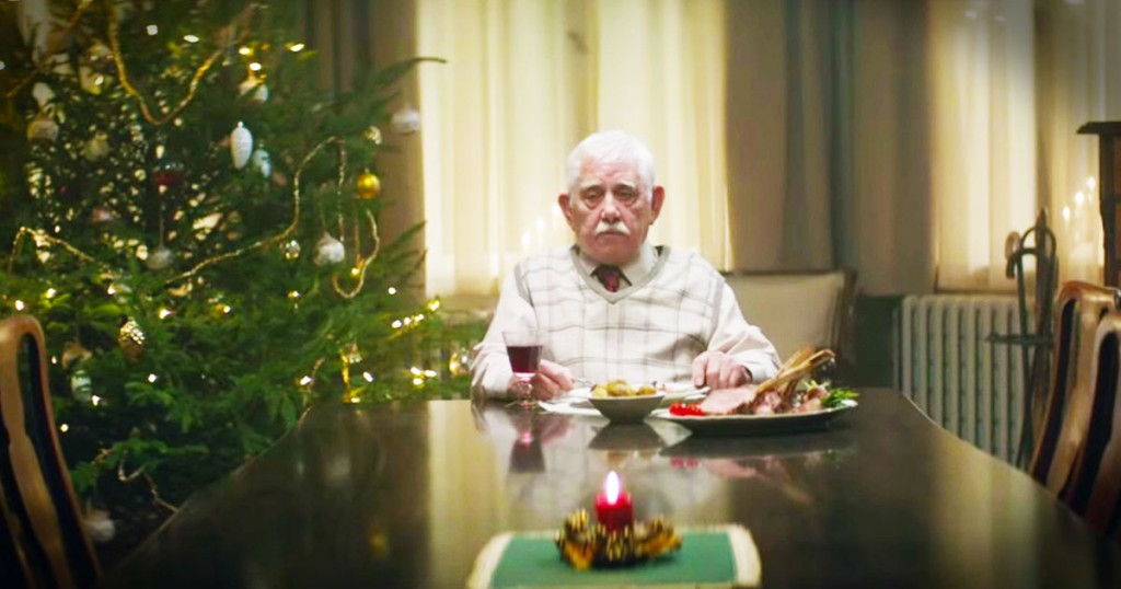 jd-godvine-grandpa fakes death christmas ad-FB