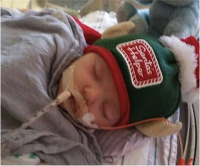 godupdates boy prays with santa for miracle for baby 6