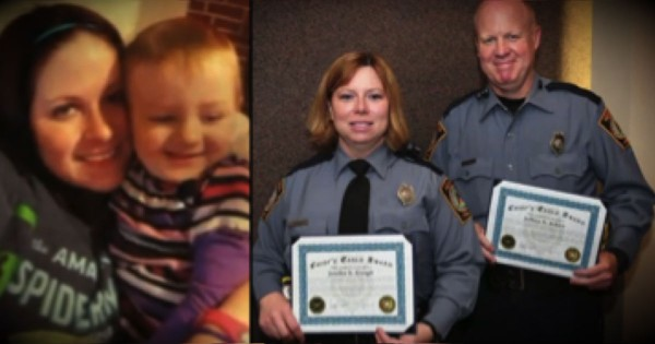 What 2 Officers Did To Save A 4-Year-Old's Birthday Is Heartwarming