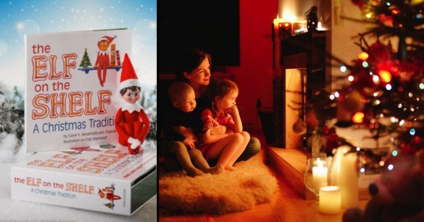 Mom Cuts Out Elf On The Shelf To Focus On Jesus
