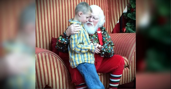 Santa's Powerful Message For A Boy With Autism