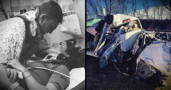 A Young Couple Was Spared From A Horrible Crash And It Was All God