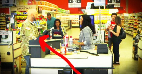 Veteran Who Couldn't Pay For Groceries Gets An Incredible Surprise