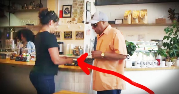 Strangers Stand Up For A Blind Man During Social Experiment