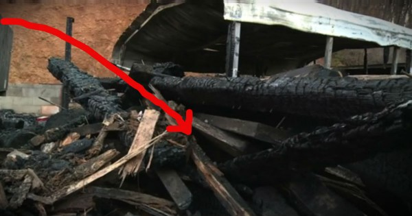 A House Fire Burned Everything They Owned Except A Bible