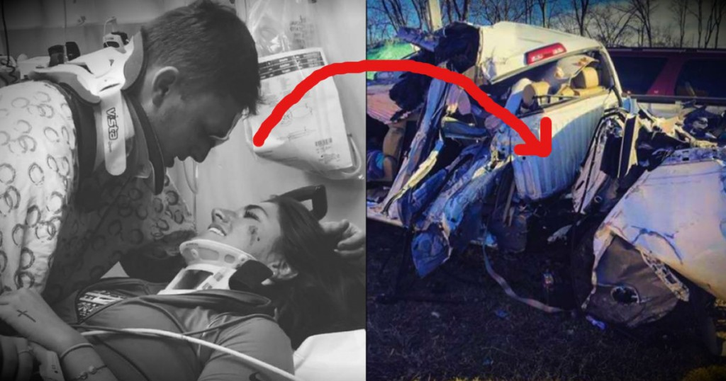mj-godupdates-young-couple-miraculously-survive-85mph-crash-that-splits-truck-in-two-fb