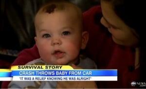 godupdates baby boy thrown 25 feet in crash survives 5