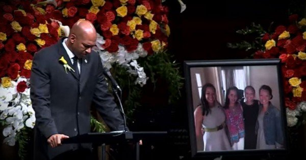 Monty Williams Gives Faith-Filled Speech At Wife's Funeral
