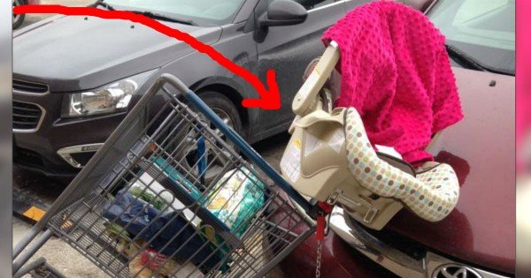 Mom's Warning Of A Dangerously Common Shopping Cart Mistake