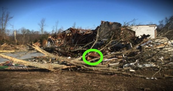 A Tornado Destroys A 145-Year-Old Church But Leaves Bible Intact
