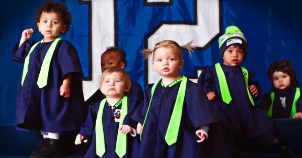 Super Bowl Baby Choir Featuring Seal