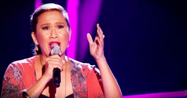 Powerful Audition On The Voice UK Of 'Wind Beneath My Wings'