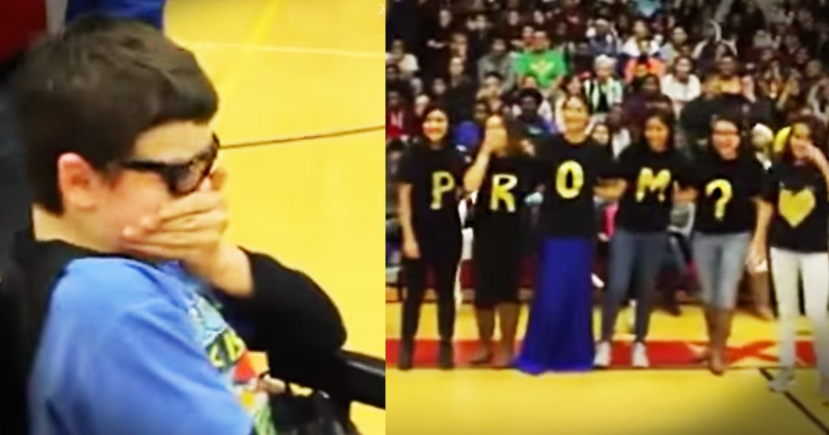 Promposal for Special Needs Student Is Heartwarming