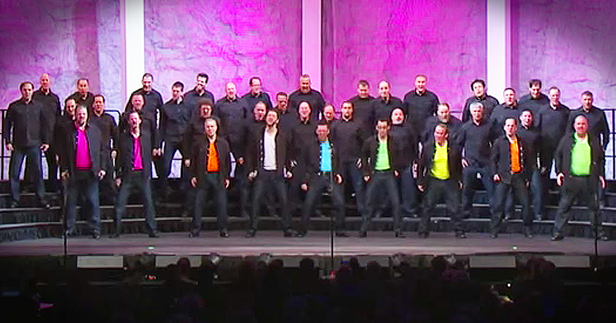 Barbershop Choir A Cappella Remake of Footloose