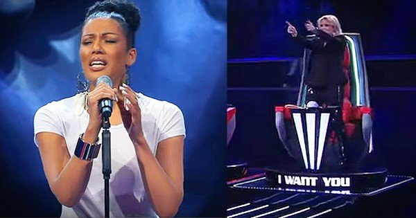 Woman Auditions On The Voice With 'Bridge Over Troubled Water'