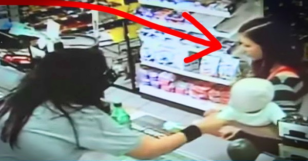 A Store Clerk Grabbed Her Baby Moments Before She Collapsed
