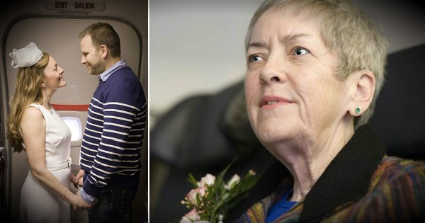 A Couple Weds On An Airplane So That Mom With Cancer Can Attend