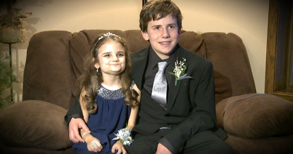 godupdates teen asked his little sister with terminal illness to dance fb
