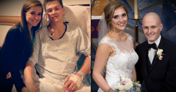 An Entire Community Chips In To Help A Teen With Terminal Cancer Marry His High School Sweetheart
